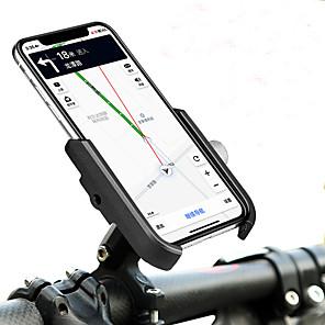 cheap Mounts & Holders-Bike Phone Mount Portable Adjustable / Retractable Anti-Slip for Road Bike Mountain Bike MTB Folding Bike Aluminum Alloy iPhone X iPhone XS iPhone XR Cycling Bicycle Black Black / Red Silver