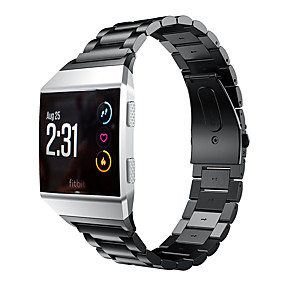 cheap Smartwatch Bands-Watch Band for Fitbit ionic Fitbit Business Band Stainless Steel Wrist Strap