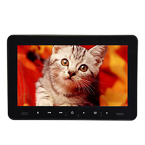 cheap Car DVD Players-9 inch 1 DIN Android 8.0 LED Headrest DVD Player Games / SD / USB Support / FM Transmitter for universal HDMI Support AVI / MPG / DAT MP3 / WMA / CD JPEG