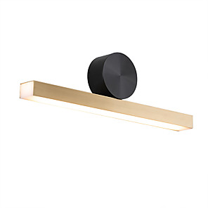 cheap Indoor Wall Lights-HEDUO Creative Modern Contemporary Flush Mount wall Lights Study Room Office Indoor Copper Wall Light 110-120V 220-240V