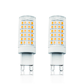 cheap LED Bi-pin Lights-2pcs 7W LED Corn Lights LED Bi-pin Lights 800 lm G9 T 78 LED Beads SMD 2835 Dimmable Warm White White 110-130 V 200-240 V