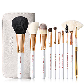 cheap Makeup Brush Sets-Professional Makeup Brushes 10pcs Cute Soft New Design Comfy Bamboo for Makeup Brush