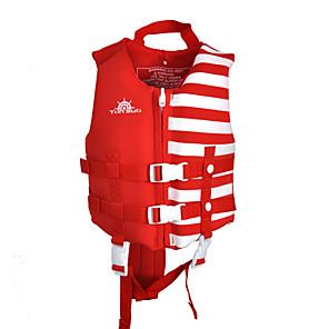 cheap Wetsuits, Diving Suits & Rash Guard Shirts-YON SUB Life Jacket Softness Nylon Neoprene Swimming Water Sports Rafting Life Jacket for Kids