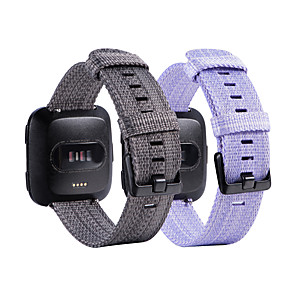 cheap Smartwatch Bands-Watch Band for Fitbit Blaze / Fitbit Versa / Fitbit Versa Lite Fitbit Sport Band Fabric Wrist Strap