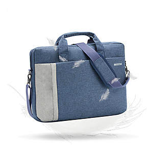 cheap Sleeves,Cases & Covers-LITBest 14 Inch Laptop / 15.6 Inch Laptop Briefcase Handbags Oxford Fabric Solid Colored / Simple for Business Office Unisex Water Proof
