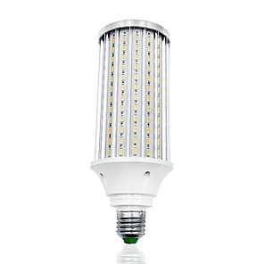 cheap LED Spot Lights-LOENDE 80W LED Corn Lights 8000 lm E27 T 216 LED Beads SMD 5730 Warm White White 85-265 V
