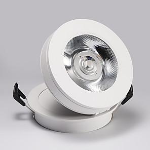 cheap LED Recessed Lights-PUSHENG 8.5 cm Adjustable / Flush Mount Spot Light Aluminum Resin Modern Generic