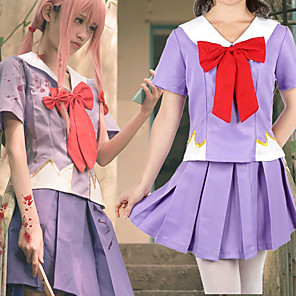 povoljno Anime kostimi-Inspirirana Budućnost dnevnik Gasai Yuno Anime Cosplay nošnje Japanski Cosplay Suits / Kravata Za Žene