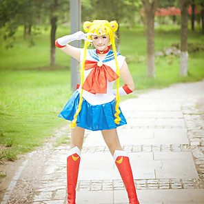 cheap Anime Costumes-Inspired by Sailor Moon Sailor Moon Anime Cosplay Costumes Japanese Cosplay Suits N / A Underwear Headband For Women's