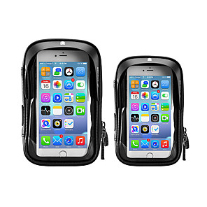 cheap Bike Handlebar Bags-LITBest Cell Phone Bag Bike Handlebar Bag 5.8    6.0 inch Cycling for All Phones Black Road Bike Motobike / Motorcycle Bike / Cycling
