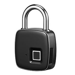 cheap Fingerprint Padlock-IP65 Waterproof Anti-theft Fingerprint ID Smart Keyless Lock Door Case Bag Padlock
