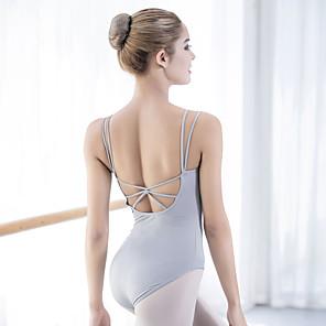 cheap Evening Dresses-Ballet Leotard / Onesie Bandage Women's Training Performance Sleeveless Nylon Lycra