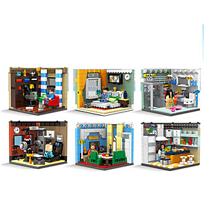 cheap Building Blocks-Building Blocks 1 pcs Family compatible ABS+PC Legoing Simulation All Toy Gift / Kids