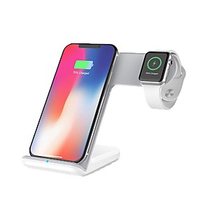 cheap Wireless Chargers-Smartwatch Charger / Portable Charger / Wireless Charger USB Charger USB Wireless Charger 1.1 A / 1 A DC 9V / DC 5V for Apple Watch Series 4/3/2/1 iPhone X / iPhone 8 Plus / iPhone 8