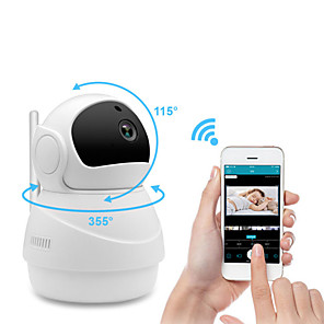 cheap Indoor IP Network Cameras-Wireless Surveillance Camera Wifi Baby Monitor Network Camera 2MP Security Network Camera HD