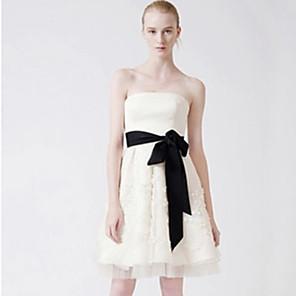 저렴한 파티 새시-원석 & 크리스탈 / 그로스그레인 결혼식 창틀 와 벨트 여성용 허리 장식띠