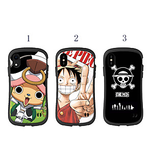 cheap iPhone Cases-Case For Apple iPhone XS / iPhone XR / iPhone XS Max Shockproof / Pattern Back Cover Cartoon TPU