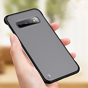 cheap Samsung Case-Ultra-thin Slim Frameless Transparent Matte Case For Samsung Galaxy S10 Plus S10e S10 S9 Plus S9 S8 Plus S8 S7 Edge S7 Hard PC Back Cover Cases For Note 10 Plus Note 10 Note 9 Note 8 Phone Cases