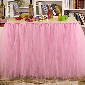 cheap Wedding Decorations-Cotton Fabric Table Center Pieces - N / A Table Runners 1 pcs All Seasons