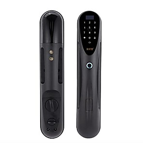 cheap Video Door Phone Systems-Factory OEM RX0838 Aluminium alloy lock / Fingerprint Lock / Intelligent Lock Smart Home Security System RFID / Fingerprint unlocking / Password unlocking Household / Home / Office / Bedroom Security