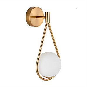 cheap Indoor Wall Lights-Nordic Style Wall Lamps & Sconces Bedroom / Study Room / Office Metal Wall Light 110-120V / 220-240V