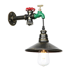 cheap Wall Sconces-Creative / Pipe Retro Vintage / Traditional / Classic Wall Lamps & Sconces Dining Room / Shops / Cafes Metal Wall Light 110-120V / 220-240V