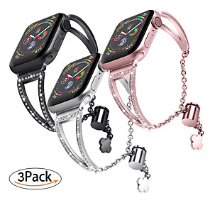 cheap Smartwatch Bands-Watch Band for Apple Watch Series 5/4/3/2/1 / Apple Watch Series 4 Apple Sport Band Stainless Steel Wrist Strap