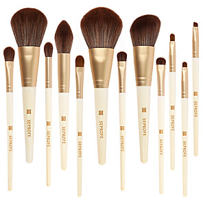 cheap Eyeliner Brushes-Professional Makeup Brushes 12pcs Soft New Design Adorable Wooden / Bamboo for Makeup Brush