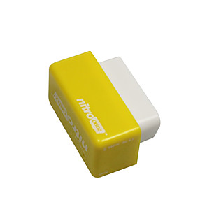 cheap OBD-Outzone Nitro OBD2 Performance Chip Plug and Drive Tuning Power Box for Gasoline Petrol Car Yellow - More 35% Power and 25% Torque 2PCB Yellow