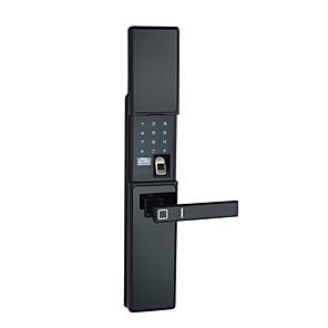 cheap Door Locks-Factory OEM FL09 Aluminium alloy lock / Fingerprint Lock / Intelligent Lock Smart Home Security iOS / Android System RFID / Fingerprint unlocking / Password unlocking Home / Office / Hotel Wooden Door
