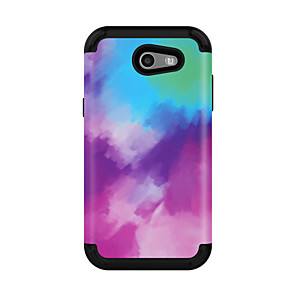 cheap Samsung Case-Case For Samsung Galaxy J3 / Galaxy J3 Prime / Galaxy J3 Pro(2017) Shockproof Back Cover Color Gradient PC