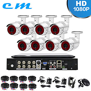cheap NVR Kits-8CH Shop Monitoring Set AHD 200 Million 10 Inch With Screen Integrated Machine DVR Camera