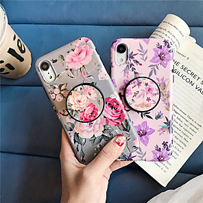 cheap iPhone Cases-Case For Apple iPhone XS / iPhone XR / iPhone XS Max with Stand / Pattern Back Cover Flower TPU for iPhone X 8 8PLUS 7 7PLUS 6 6S 6PLUS 6SPLUS