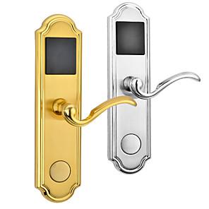cheap Door Locks-Retro European Hotel Smart Lock Swipe Induction Lock Electronic Lock