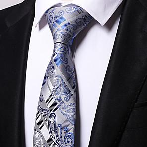 cheap TWS True Wireless Headphones-Men's Party / Work Necktie - Striped / Jacquard