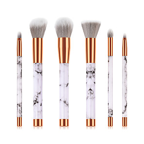cheap Makeup Brush Sets-Professional Makeup Brushes 6pcs Soft New Design Full Coverage Lovely Comfy Plastic for Makeup Set Makeup Tools Makeup Brushes Foundation Brush Makeup Brush Lip Brush Eyeshadow Brush