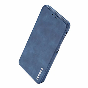 cheap Huawei Case-Leather Magnetic Flip Wallet Phone Case for Huawei P30 Pro P30 Lite P30 Card Slot Holder Stand Case for Huawei P20 Pro P20 Lite P20 Cover