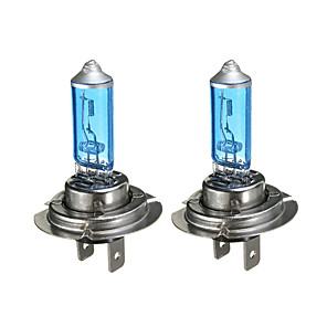 cheap Car Headlights-2pcs/set H7 12V 55W White 6300k Blue Car Head Light Lamp Car Lightings