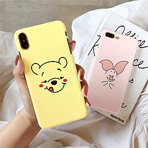 cheap iPhone Cases-Case For Apple iPhone XS / iPhone XR / iPhone XS Max Pattern Back Cover Cartoon PC for  iPhone 6  6 Plus  6s 6s plus 7 8 7 plus 8 plus X XS