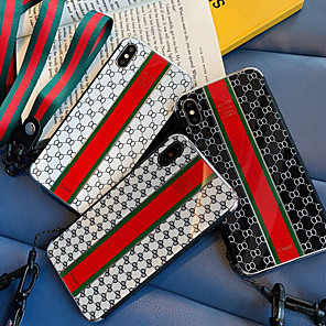 cheap iPhone Cases-Case For Apple iPhone XS / iPhone XR / iPhone XS Max Shockproof / Dustproof / Pattern Back Cover Word / Phrase PC