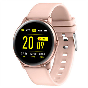 cheap Smartwatches-KW19 Smart watch BT Fitness Tracker Support Notify/Heart Rate Monitor Sport Bluetooth Smartwatch Compatible Samsung/ Android/ Iphone