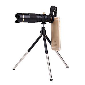 cheap Test, Measure & Inspection Equipment-Universal Clip HD23X Zoom Cell Phone Telescope Lens Telephoto External Smartphone Camera Lens For iPhone Samsung Huawei