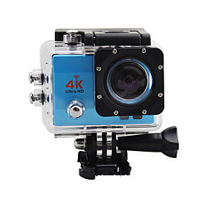 cheap Sports Action Cameras-Q3H vlogging Timing Function / Water-Repellent / Wireless Control 32 GB 30fps 8 mp / 5 mp / 3 mp 4x 4000 x 3000 Pixel Swimming / Camping / Hiking / Outdoor Exercise 2 inch 12.0MP CMOS Single Shot