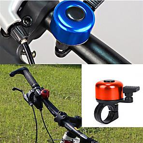 povoljno Bicikli-LITBest Zvono za bicikl Vodootporno Prijenosno Mala težina alarm Izdržljivost za Cestovni bicikl Mountain Bike Rekreativna vožnja biciklom Biciklizam ABS Legura Ljubičasta Zlato Srebro 1 pcs