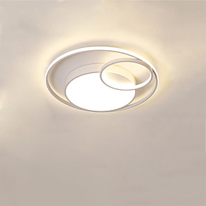 cheap Dimmable Ceiling Lights-CONTRACTED LED® 3-Light 50 cm Flush Mount Lights Metal Linear / Geometrical Painted Finishes LED / Modern 110-120V / 220-240V