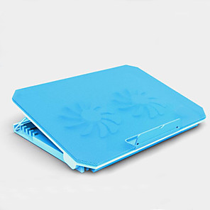cheap Stands & Cooling Pads-LITBest M11 Laptop Cooling Pad Aluminum Alloy ABS Plastic with USB Ports Adjustable Fan Speed Adjustable Angle Adjustable Height Fan