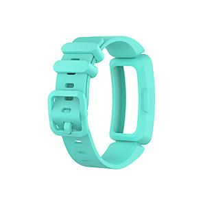 abordables Bandas de reloj inteligente-Ver Banda para Fitbit Ace 2 / Fitbit Inspire HR / Fitbit Inspire Fitbit Correa Deportiva Silicona Correa de Muñeca