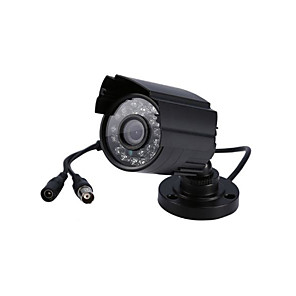 cheap Security Accessories-1200TVL CCTV IR Night Vision System Security Camera HD Color Waterproof Camera