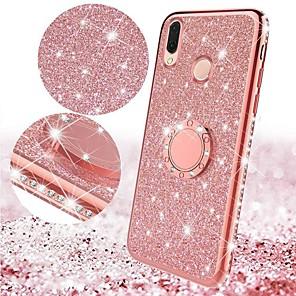 cheap Xiaomi Case-Glitter Diamond Bling Plating Soft TPU Case for Xiaomi Mi 9 SE Mi 9 Mi 8 Lite Mi 8 Mi Max 3 Mi 6X Mi 6 Redmi Note 7 Note 5 Pro Redmi 6 Pro Redmi 6A Redmi 6 Magnetic Finger 360 Ring Car Holder Case