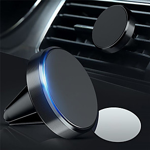 cheap Phone Mounts & Holders-Car Mount Stand Holder Magnetic Magnetic Type Aluminum / ABS Holder